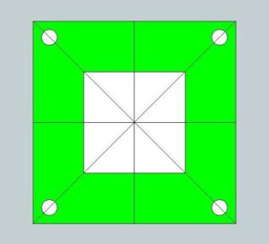 4 axis plate - part symmetry
