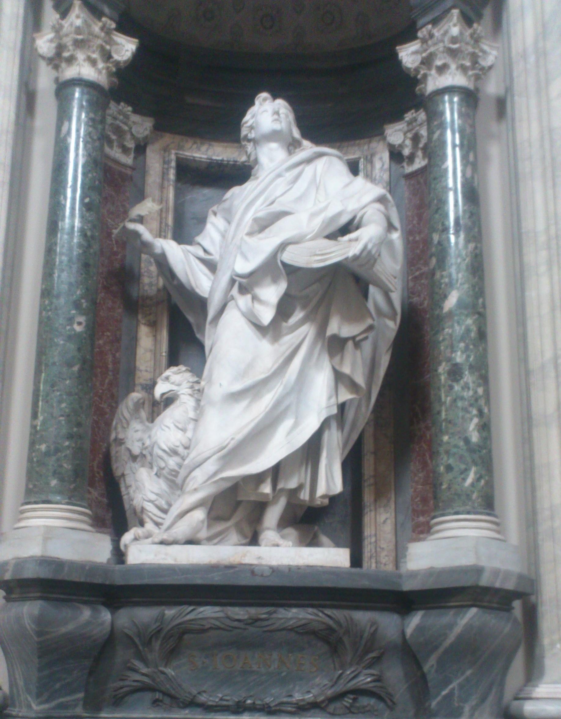 St. John statue Rome