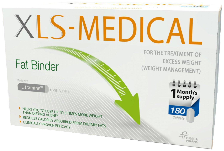 XLS Medical Fat Binder Tablets Pack of 180