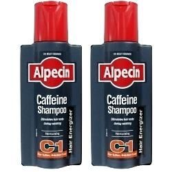 Alpecin Caffeine Shampoo C1 TWIN PACK - SAVE MONEY