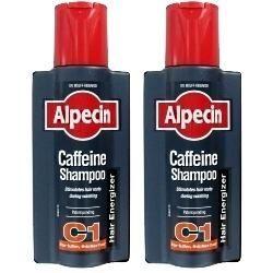 Alpecin Caffeine Shampoo C1 TWIN PACK - SAVE MONEY