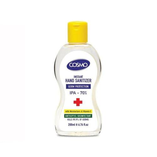 Cosmo Antibacterial Hand Sanitiser Gel 200ml