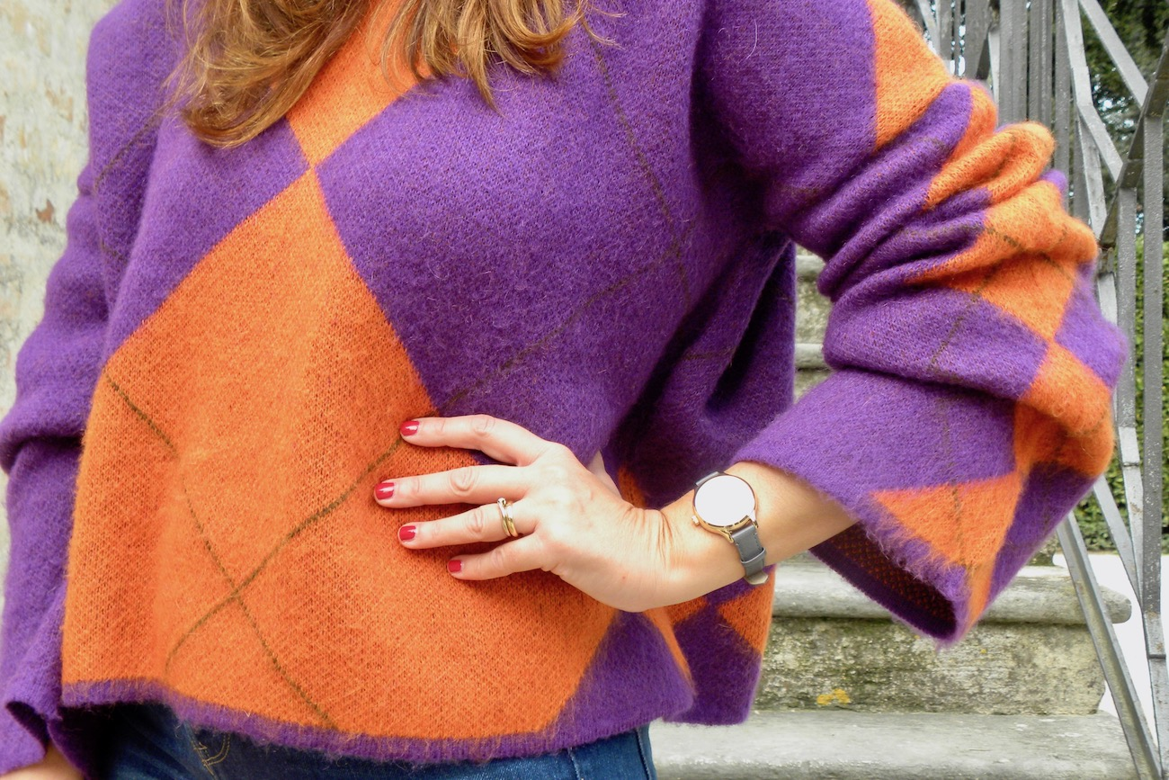 women's colored sweaters