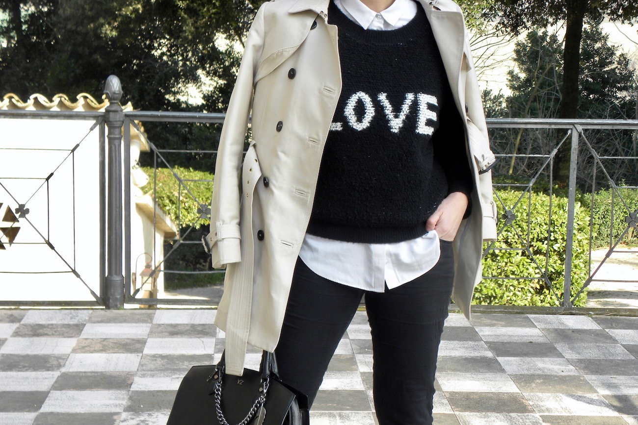 sweaters with lettering