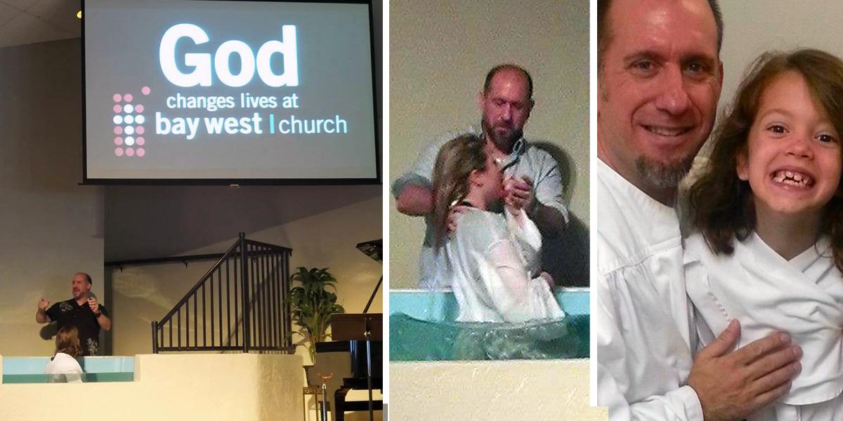 Indoor baptism