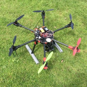 When you're building a drone, beauty is in the eye of the beholder!