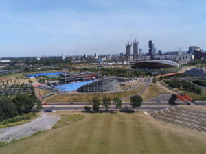 View of Stratford East London taken with Anafi drone unzoomed.