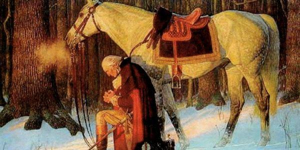 George-Washington-kneeling-in-prayer