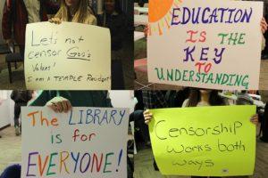 Signs-at-Temple-Public-Library-Public-Comment-Session-1-30-18-300x200