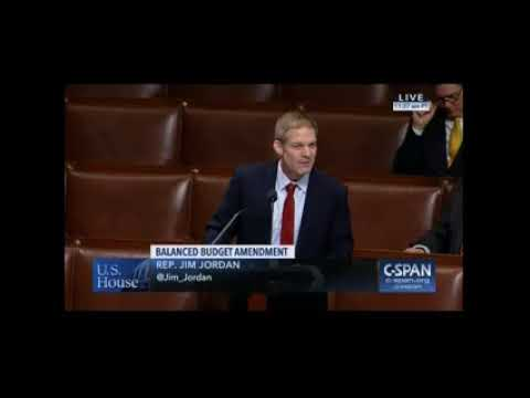 "Jim Jordan To Republicans ""Let's Just Do What WE Said We Would Do"""