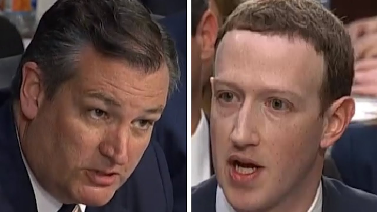 Video: Senator Cruz Slams Mark Zuckerburg