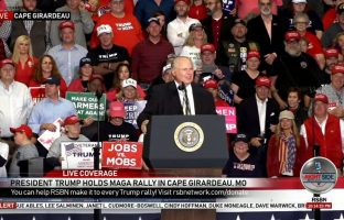 Rush Limbaugh Fires Up Voters At Trump Rally