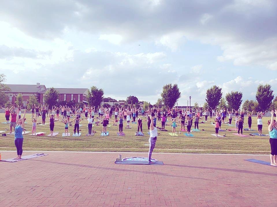 Yoga in Lawrenceville