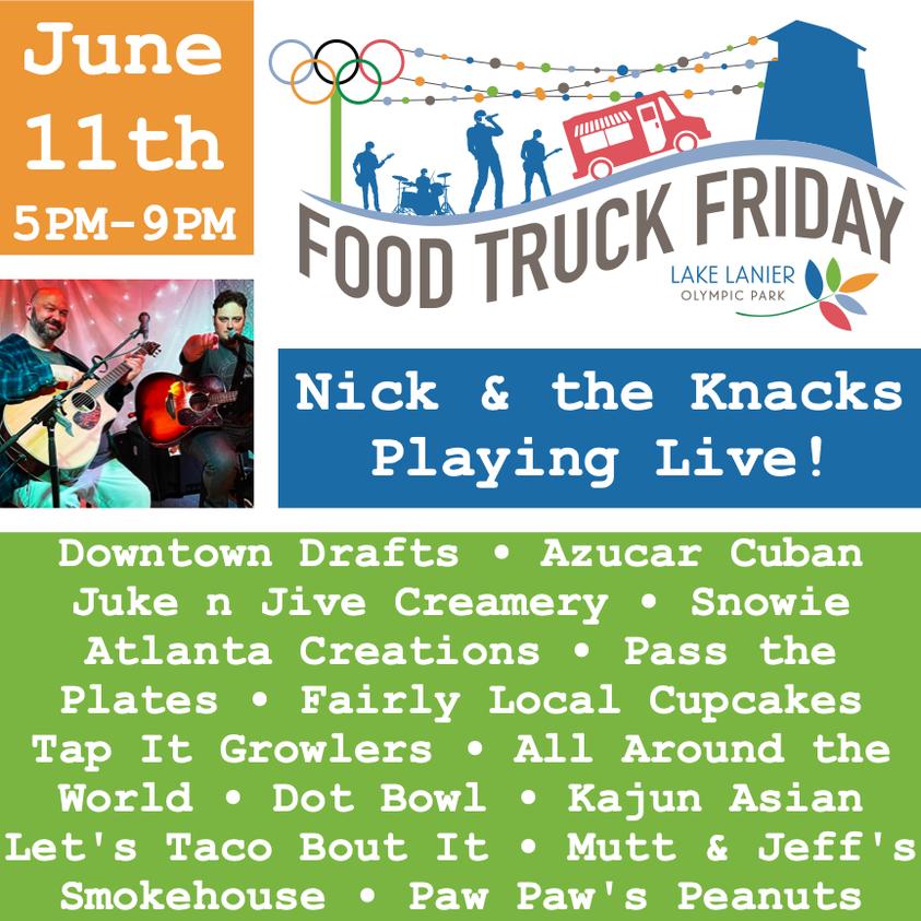 Food Truck Friday at Lake Lanier Olympic Park