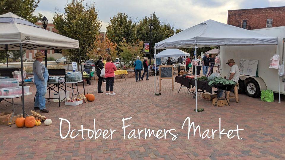 October Farmers Market (BRASELTON)