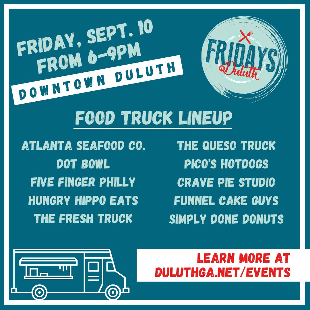 Food Trucks in Duluth