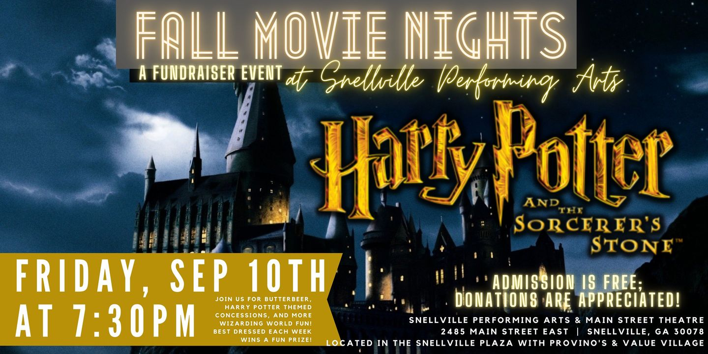 Movie Nights - Harry Potter 1 in Snellville