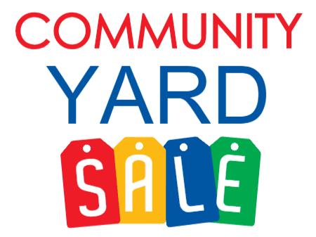 Community Yard Sale in Lilburn