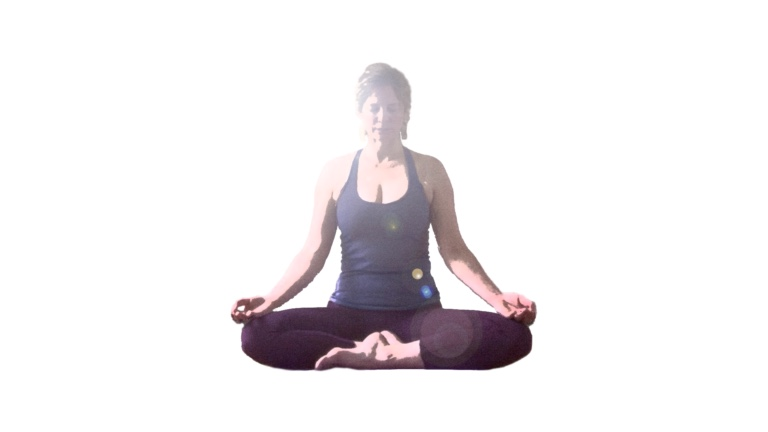 Lotus pose for Pranayama (breathing exercises)