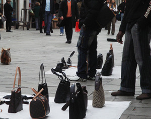 Fake Purses Can Get you Fined