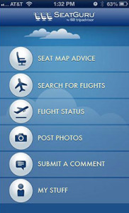 Mobile Apps for Travel, Choose your Seat Wisely