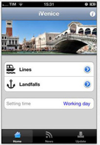 Use this App to help you travel by vaporetto in Venice Italy