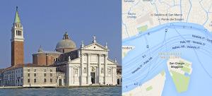 San Giorgio Maggiore, Venice Italy, Just in front of San Marco Square