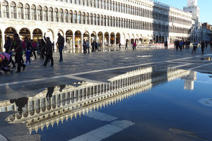high water,San Marco,Venice,tourism