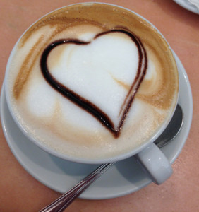 The Perfect Cappuccino - Easy to find in Venice