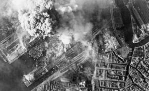 World War II in Venice, German Ships destroyed in Harbor