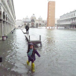 Visiting San Marco,Visiting Venice, Acqua Alta, High Water San Marco