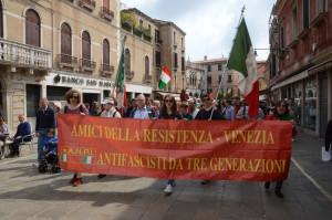 Italian Resistance, Parade Liberation of Italy