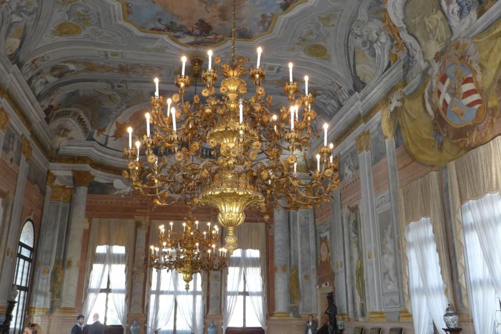 Ca; Rezzonico,Grand Canal Venice,Museums of Venice,Grand Salon