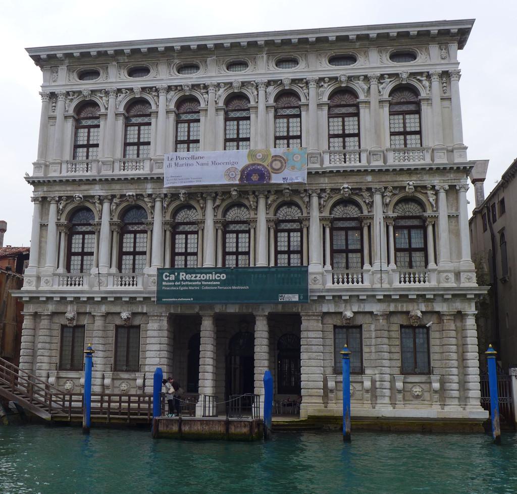 Venice Italy, Grand Canal,Palazzo,Ca'Rezzonico