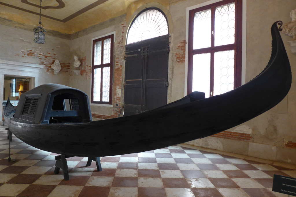 Black Gondola in Ca' Rezzonico