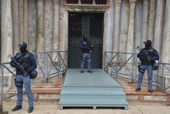 Security at San Marco
