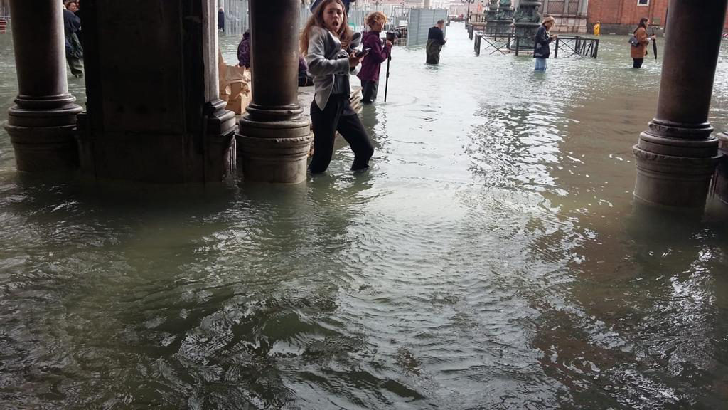 Piazza San Marco,Venice,High Water