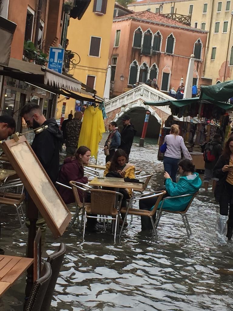 Vendors in Venice High Water