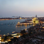 Venice Italy, View from Tower in Piazza San Marco