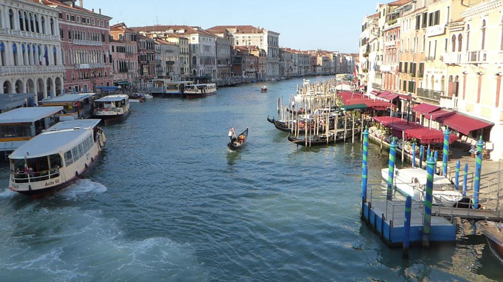 View from Rialto Bridge, Grand Canal