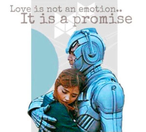 Love is a promise, not an emotion