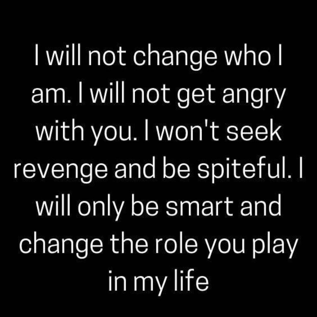 I Will Change The Things I Can