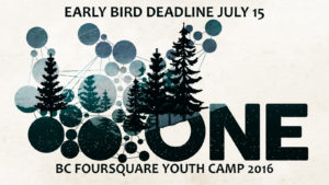 Youth Camp Early Bird Announcement