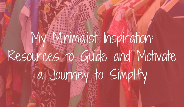 My Minimalist Inspiration