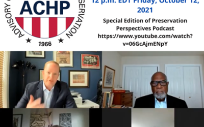 Celebrate the 55th Anniversary of the National Historic Preservation Act with the ACHP