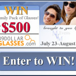 Enter : 39dollarglasses $500 Family Pack Giveaway