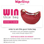 #WinThisBag (Week4-Red Gucci Leather Hobo Bag)
