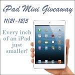 Blogger Sign Up : iPad Mini Giveaway Event