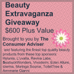 Blogger Sign Up : Beauty Extravaganza Giveaway