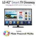 """Enter : LG 42"""" Smart TV Giveaway"""